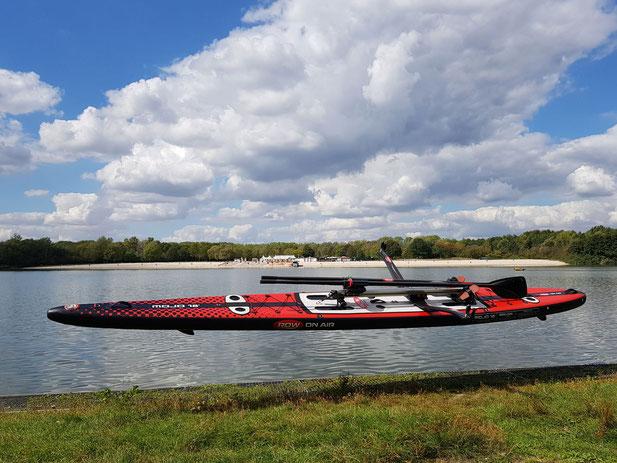 """2021: Das neue Ruderboard mit kursstabilem V-Boden MOJO 18' x 26"""""""