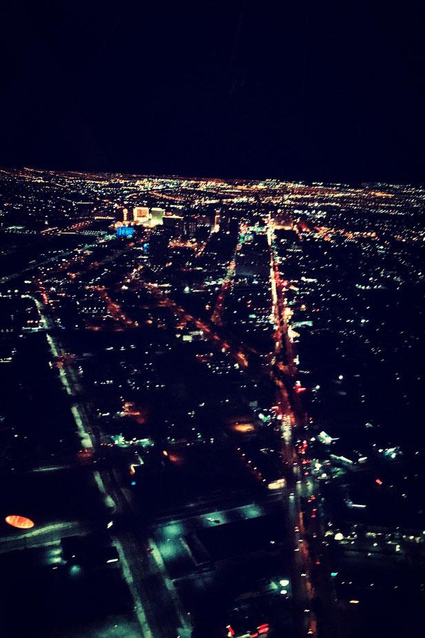 ストラスフィアタワー 景色 ラスベガス