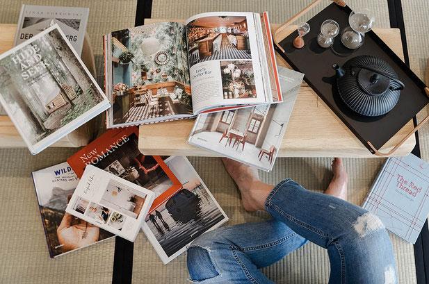 Lesestoff für Reiselustige: Blogs, Bücher, Magazine, Kolumnen, Wanderportale, Hotelkollektionen - Leseempfehlungen von Mountain Hideaways