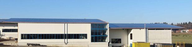 Soltermann Solar GmbH Fraubrunnen - Foto Anlagebeispiel Industrie