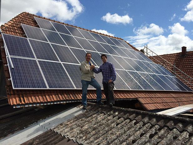 Soltermann Solar GmbH Fraubrunnen - Anlagebeispiel Landwirtschaft