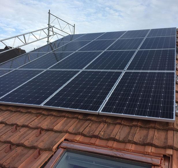 Soltermann Solar GmbH Fraubrunnen - Anlagebeispiel Einfamilienhaus