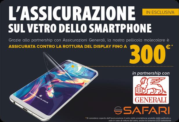 Safari srl - negozi pellicole molecolari  smartphone hydrogel