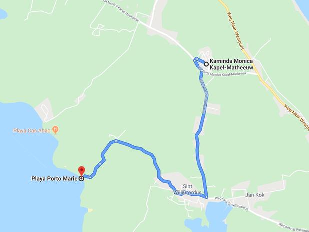 map-playa-porto-marie-urlaub-curacao