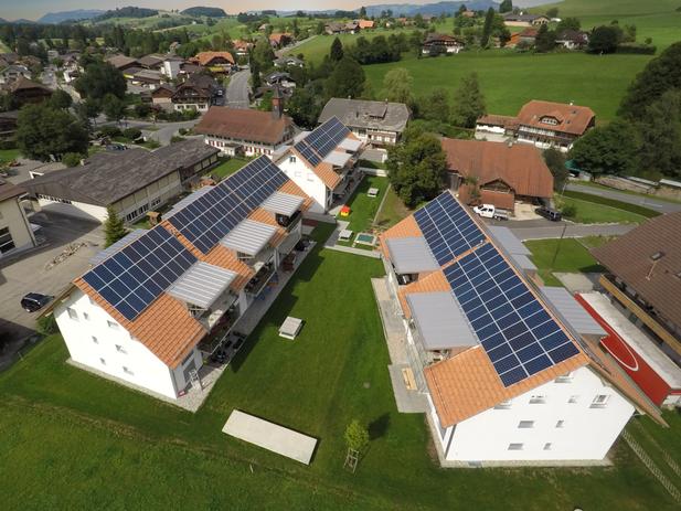 Soltermann Solar - Blogfoto PV-Anlagen auf 3 Mehrfamilienhäuser