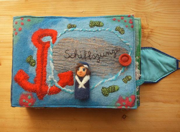 Textiles Buch von Faserverbund Schiffsjunge