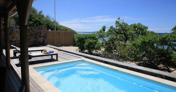 Installation de piscine coque