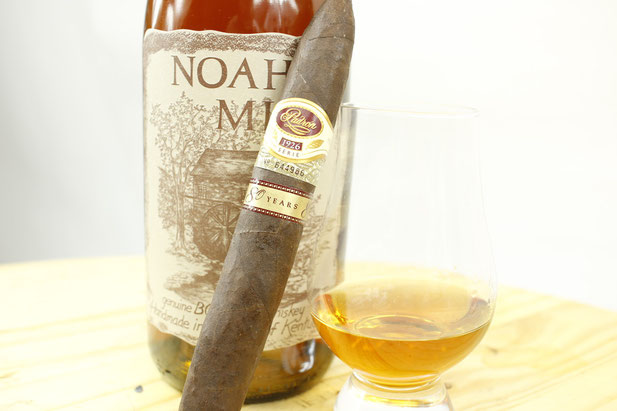 Padron 1926 80 Years Anniversary Paired With Noahs Mill Bourbon