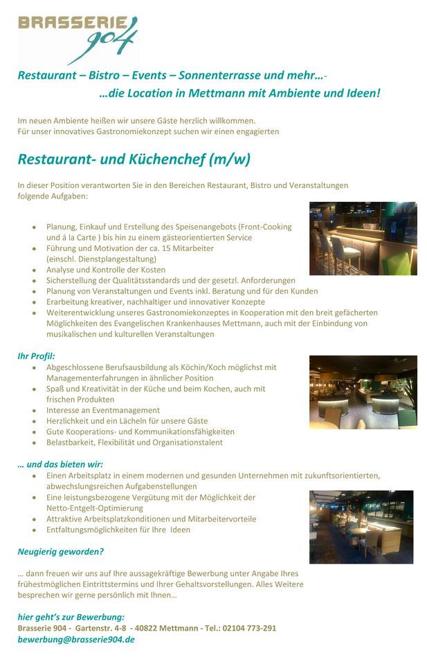 Wunderbar Beispielzusammenfassung Für Restaurant Ideen ...