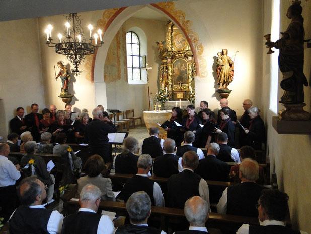 Altareinweihung in der Kapelle 2014