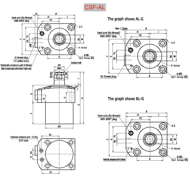 CAD CSF-AL