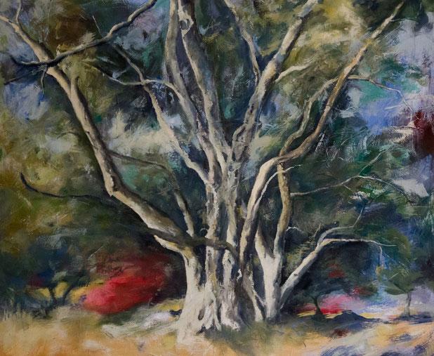Glyfada / Acryl und Eitempera auf Leinwand 100 x 120
