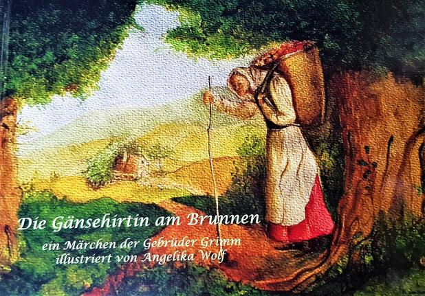 Märchenbilderbuch von illustriert von Angelika Wolf