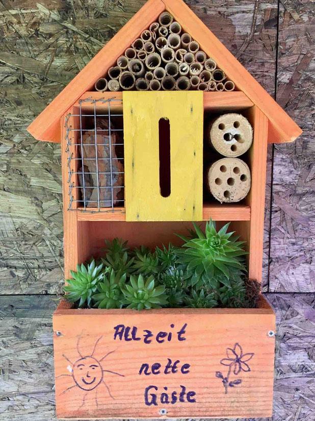 Insektenhotel, Insektenhaus, Ferienhaus für Insekten