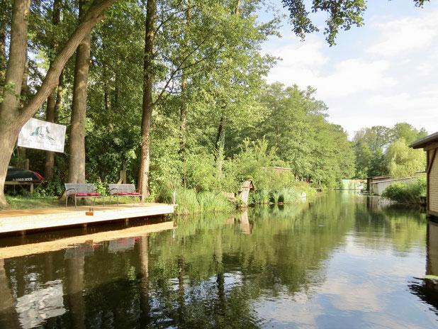 Alte Havel Steg Drewensee Feriendorf