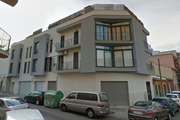 Edificio plurifamiliar, local y aparcamiento en c/Guillem Cifre de Colonya. Palma. Banc Sabadell.
