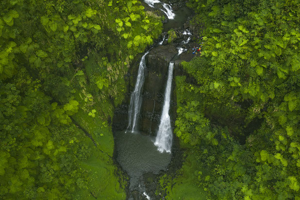 faire de la randonnée à tahiti