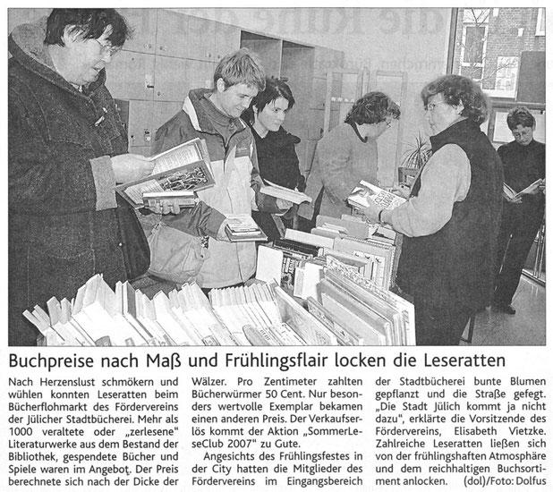 Jülicher Zeitung vom 7.04.2007