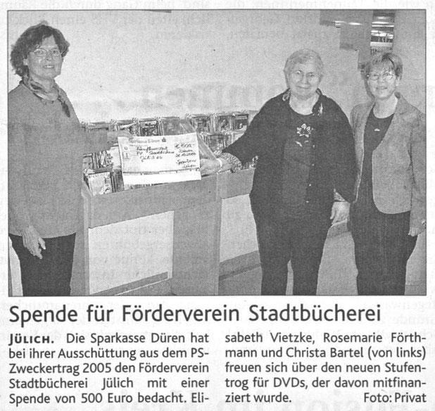 Jülicher Zeitung und Jülicher Nachrichten vom 18.02.2006