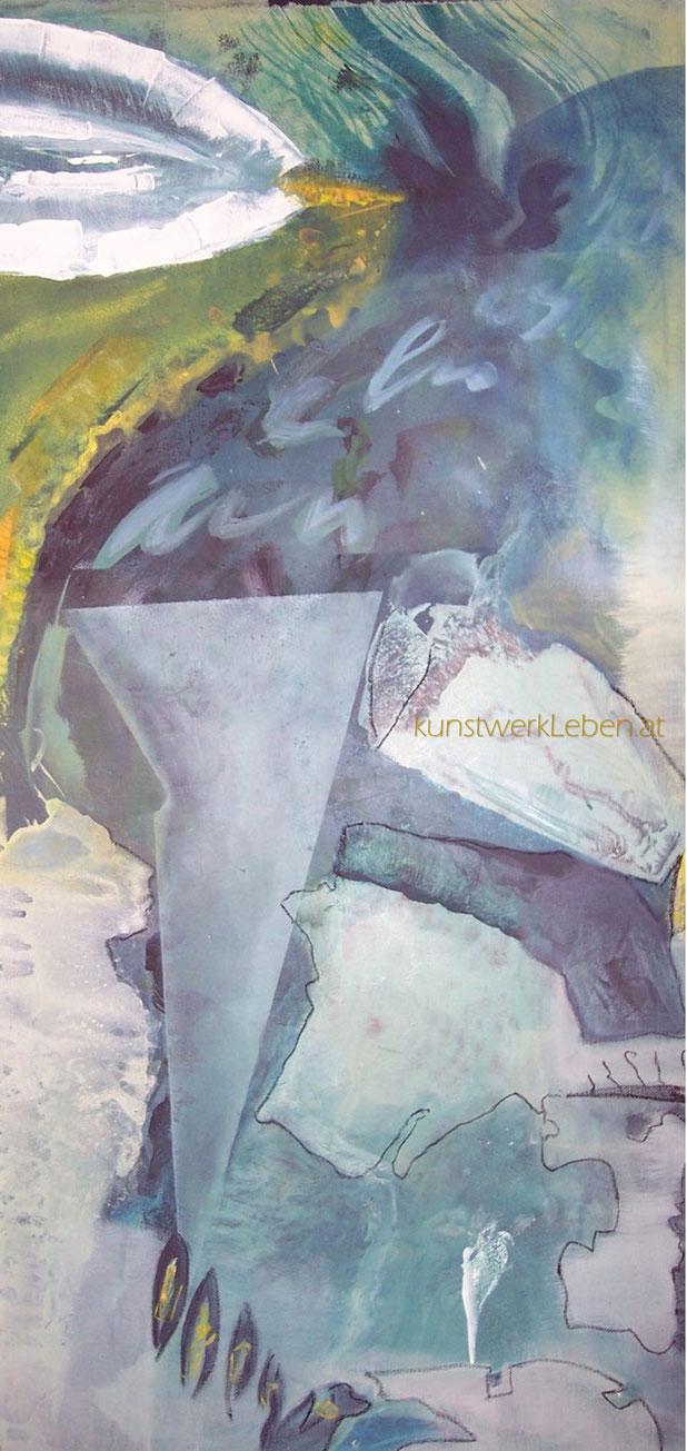 MEPHISTA, Acryl auf Leinwand, 100cm breit x 50cm hoch