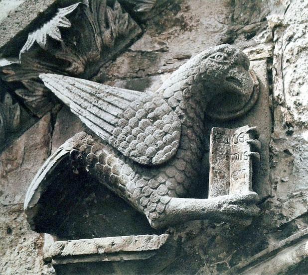 """Aquila di San Giovanni Cattedrale di Larino """"Ecce agnus Dei"""""""