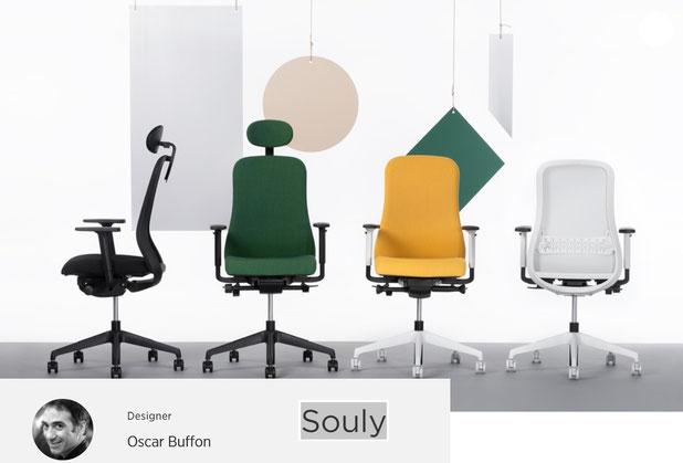 Bürostuhl Bürodrehstuhl Nowystyl Souly UPH Polster | Souly Mesh