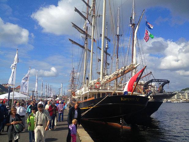 in Flensburg ist Hafenfest