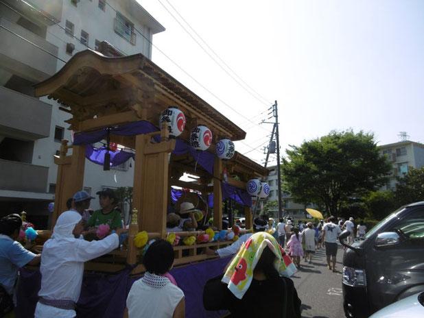 みさと団地の祭り