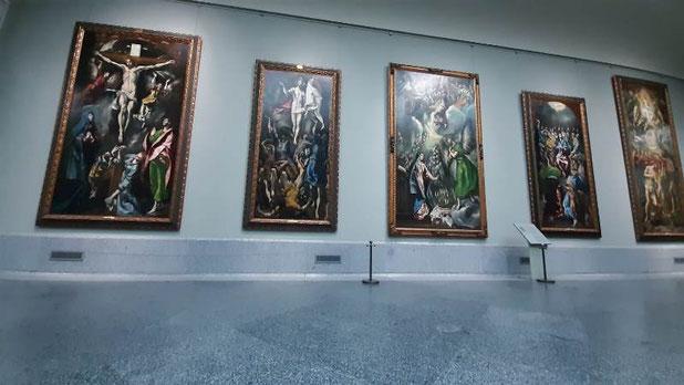 Шедевры Эль Греко в музее Прадо