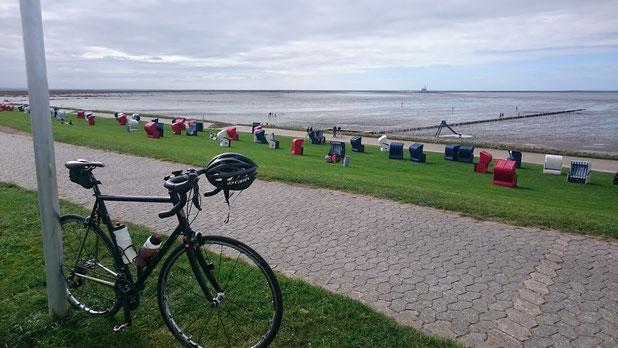 Die Nordsee lässt sich gerade nicht blicken.