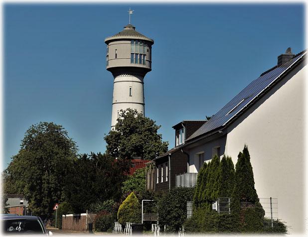 Der Wasserturm in Erkelenz