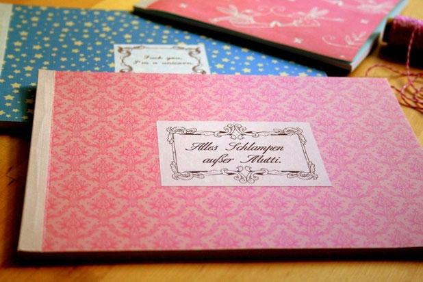 selbstgebundenes Buch - ein feines und ganz persönliches Geschenk