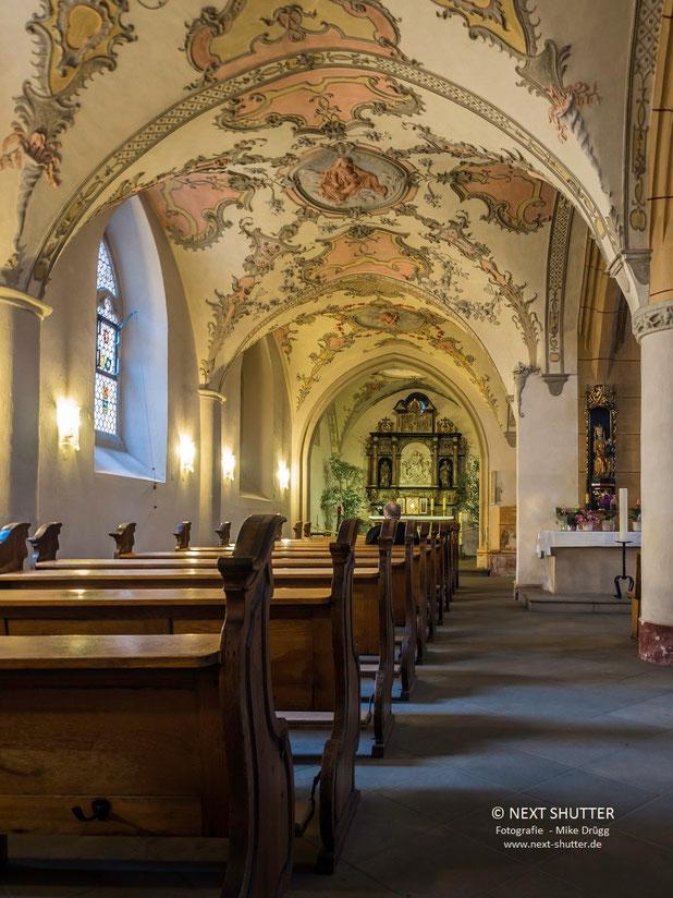 Seitenschiff der Marktkirche St. Gangolf