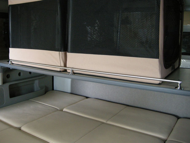 軽のワンボックスでフラットベッドを作りました!