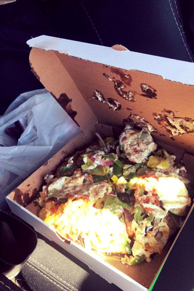 アメリカのサブウェイでの食事 アメリカ横断旅行