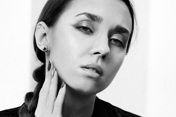 Beauty Portrait, Black & White