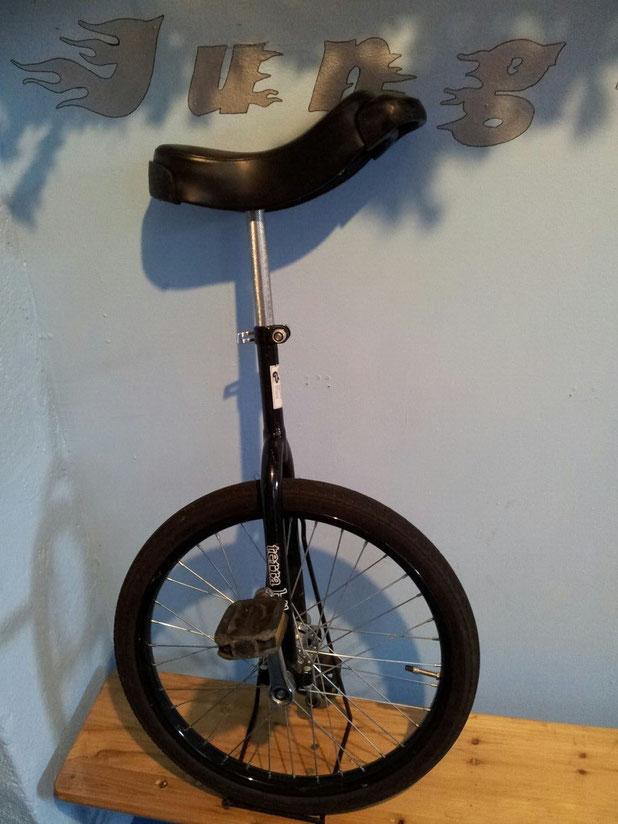 """Monz terra bikes - schwarz - Stahl - Gabel 45cm - 20"""""""