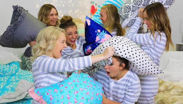 fiesta-tematica-pijama