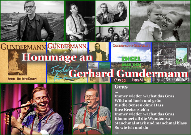 Hommage an Gerhard Gundermann