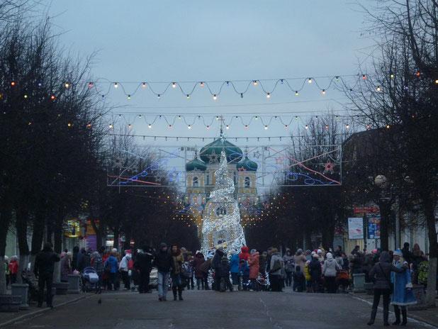 УЛ. Соборная. 19 дек. 2013г