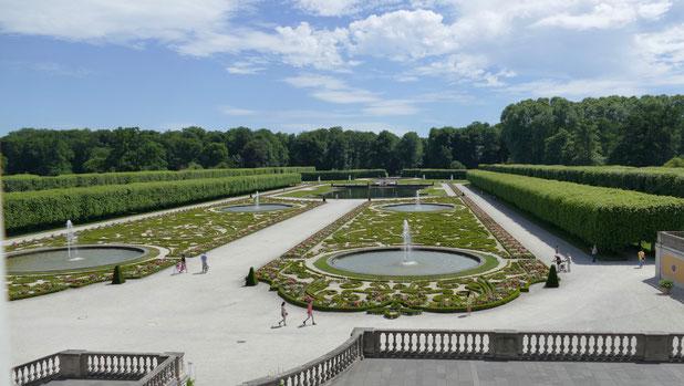 Die barocke Parkanlage von Schloss Augustusburg