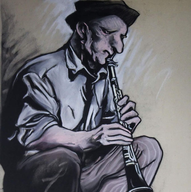 Schilderij: Olivier Boutet