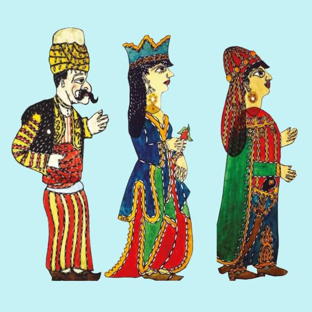 Altri personaggi dello spettacolo Karagöz