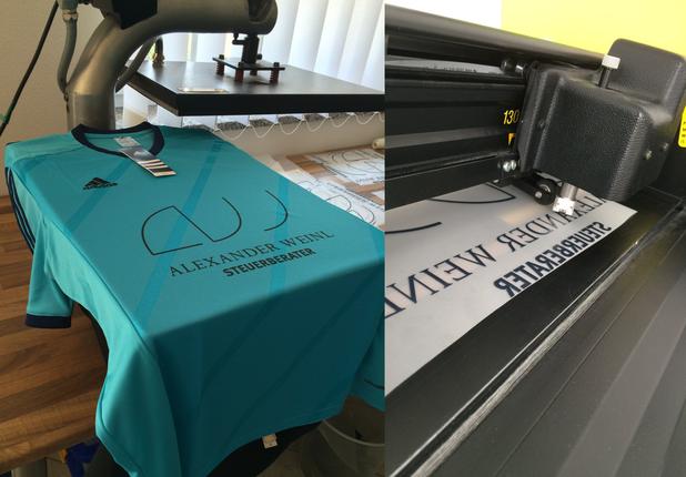 Textildruck in München und Augsburg, wir bedrucken günstig T-Shirts.