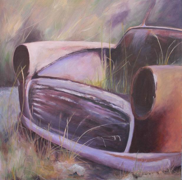 Pelekas / Acryl auf Leinwand 100 x 100