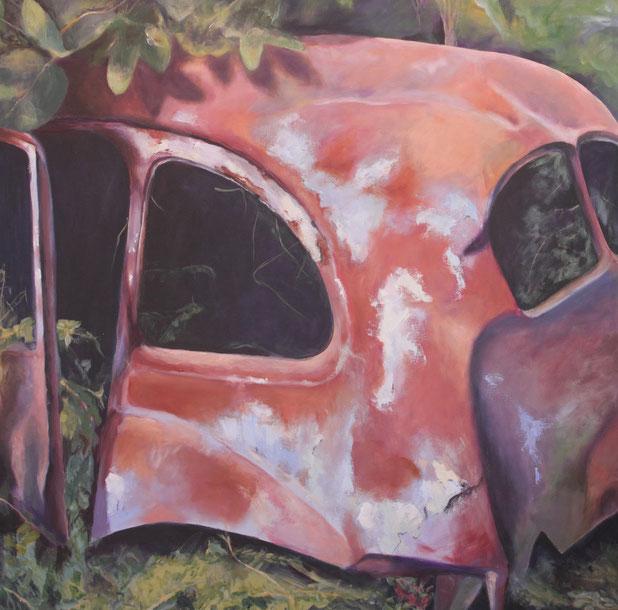 Arillas / Acryl auf Leinwand 100 x 100