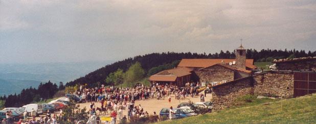 La Fête des jonquilles à l'Auberge de La Jasserie en 2000 2001 2002 2003