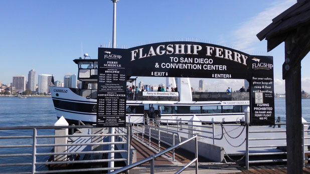 Bild: Flagship Ferry to San Diego