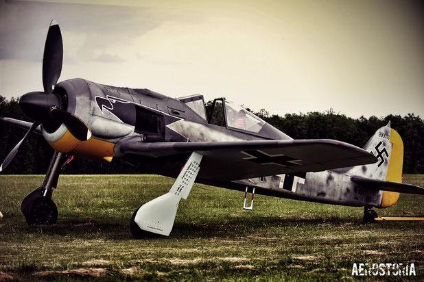 Un Esemplare di FW190 restaurato.