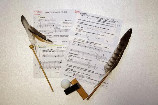 """Komposition """"Theodora und die Engel"""" von Susanna Baltensperger"""